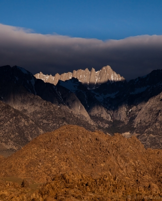 Morning Light On Mt. Whitney