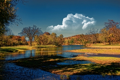 Autumn At The River Fork