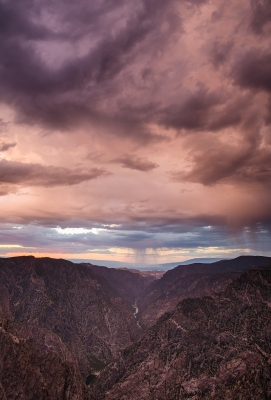 Sunset Overlook.2 – Black Canyon Of The Gunnison National Park, Colorado