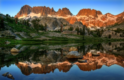 Ediza Lake Sunrise