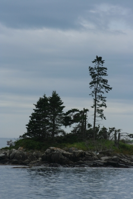 Island In Southport, Maine