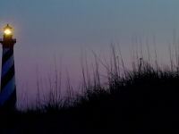 The Evening Candle At Cape Hatteras