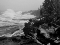 Winter Storm On Lake Superior