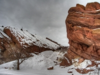 Red Rocks Winter