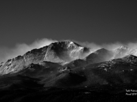 Blowing Snow On Pikes Peak