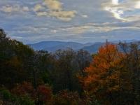 Glowing Blue Ridge
