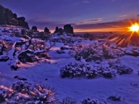 Last Warmth, Arches Np