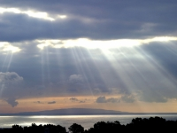 Rays Over The Pacific