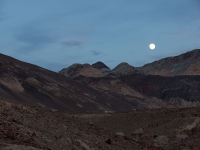Moon Rise In Death Valley