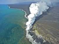 New Land Building Volcano