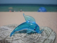 Toy Dolphin At The Beach