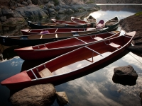 Canoe Reflections