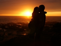 Silhouetted Love