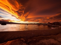 Mono Lake - Skies Ablaze