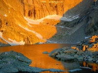 Sunrise At Chasm Lake