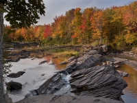Autumn On Big Iron River