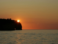 Sunset At Pictured Rock