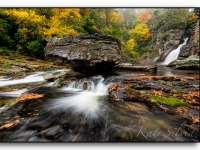 Autumn At Linville Falls