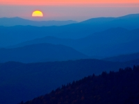 Sunset Over The Great Smokies