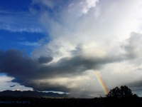 Rainbow And Storm Over The Huachucas