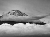 Fuji In The Clouds