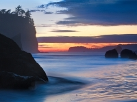 Ruby Beach Twilight