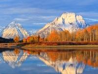Fall Morning On The Tetons