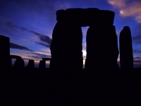 Dawn In Stonehenge