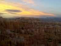 Sunset With The Hoodoos