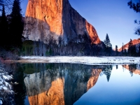 Last Light On El Capitan