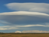 Lenticular Clouds Of The Eastern Sierras