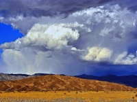 Gathering Storm Clouds Over Death Valley