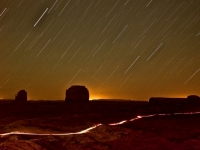 Monument Valley Star Trails