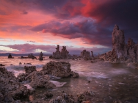 Storm Clearing Over Mono Lake