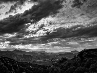 Evening Clouds, Santa Monica Mountains