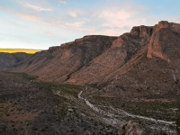 Sunset In The Guadalupe Mountains