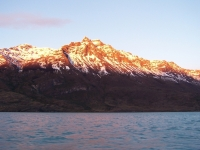The Morning Light In Patagonia