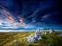 Autumn Skies Over Mono Lake