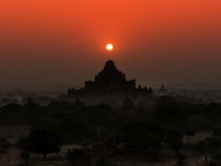 Sunrise And Temples