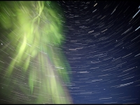 Auroras And Star Trails