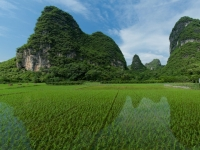 Karst Mountains Of Yangshuo