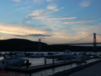 Marina And Mid Hudson Bridge