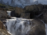 Fitz Roy Above The Falls