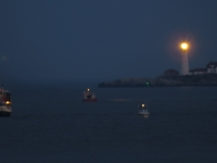Portland Headlight From Falmouth, Me July 5, 2014