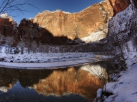 Reflections Of Zion Valley