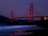 Golden Gate - After The Sunset