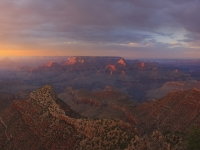 Yaki Point Sunset Panorama