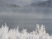 The Ice Fog Retreats