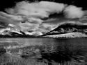Canaian Rockies, Banff National Park, Vermilion Lake, Booming Clouds