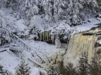 Blackwater Falls Winter Wonderland